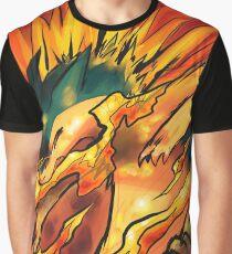 Typhlosion Pokémon Graphic T-Shirt