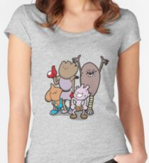 Little Asskickers Women's Fitted Scoop T-Shirt