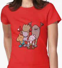 Little Asskickers Womens Fitted T-Shirt