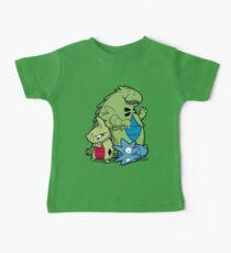 Terrific Tyrannic Dinosaurs Baby Tee