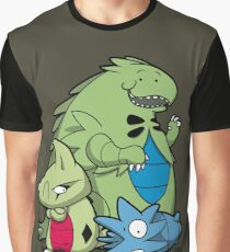 Terrific Tyrannic Dinosaurs Graphic T-Shirt