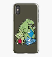 Terrific Tyrannic Dinosaurs iPhone Case