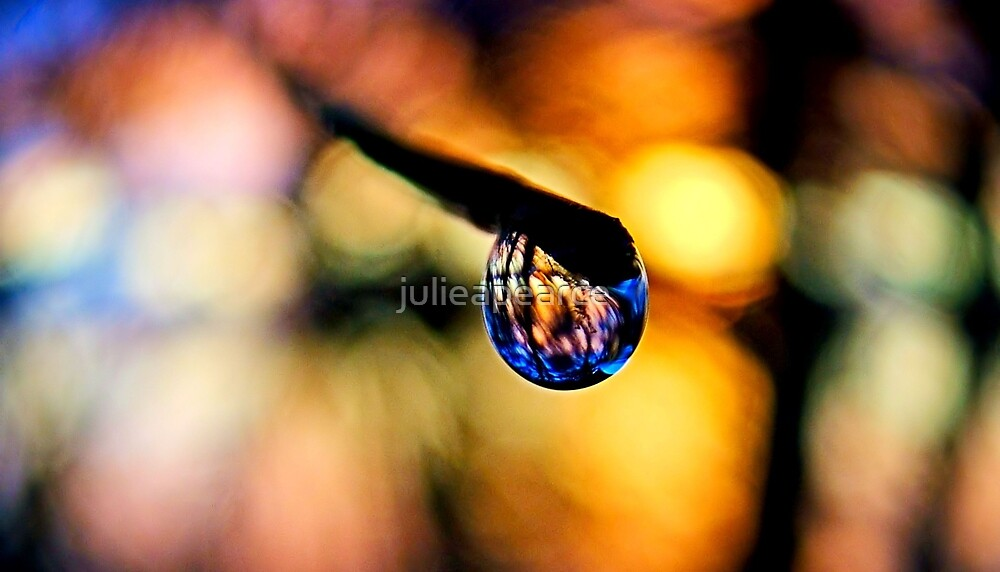 Sunset Drop by julieapearce