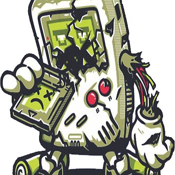 Zombie Game boy by FortuneCookieTs