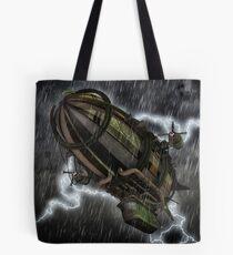 Steampunk Airship  Tote Bag
