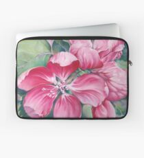 Flower of Crab-apple Laptop Sleeve
