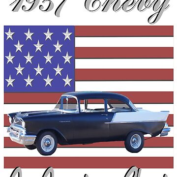 57 Chevy - An American Classic by seansdigitalart