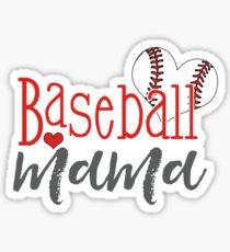 Baseball Mama Sticker