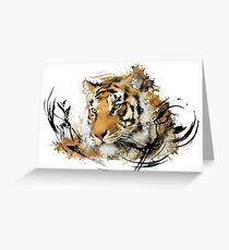 Distant Tiger Grußkarte