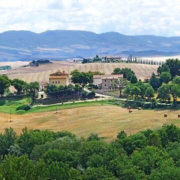 Bagni Vignoni Countryside by probono