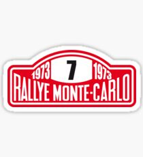 Rallye Monte Carlo  Sticker