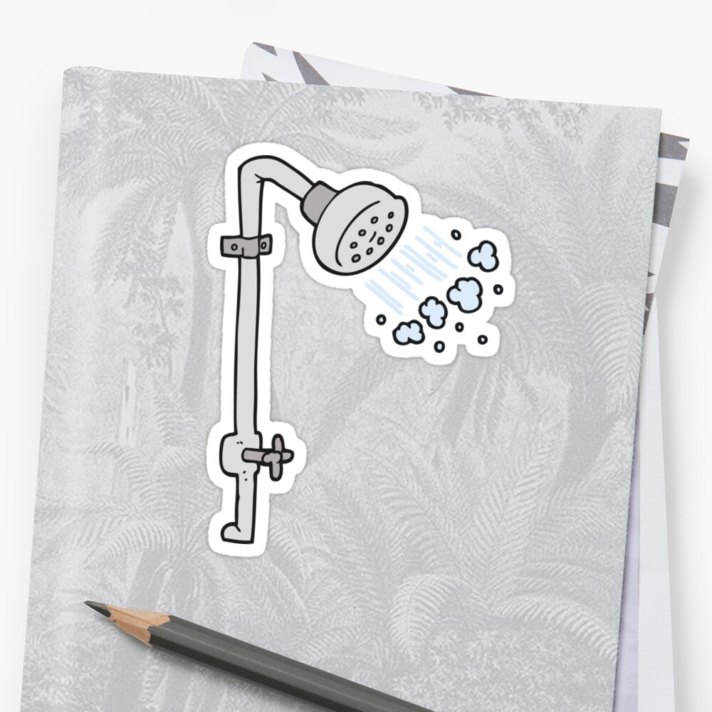 cartoon shower by octoberarts