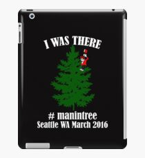 I Was There Seattle WA March 2016 white iPad Case/Skin
