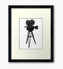 Film Camera Prop Framed Print
