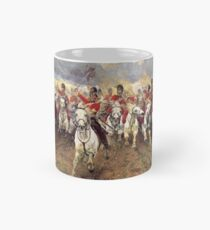 Scotland Forever! 1881, Battle of Waterloo, Lady Butler, Charge of the Royal Scots Greys Mug