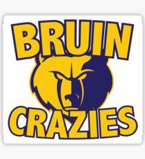 Bruin Crazies Sticker