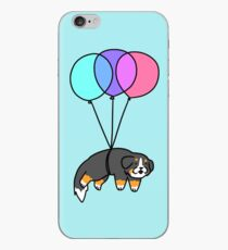 Balloon Bernese Mountain Dog iPhone Case