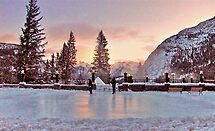 Early Morning Skaters by Nancy Richard