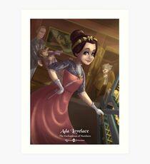 Ada Lovelace - Rejected Princesses Art Print