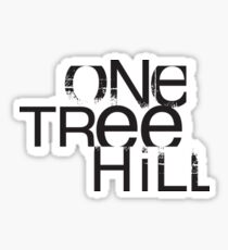 One Tree Hill Logo Sticker