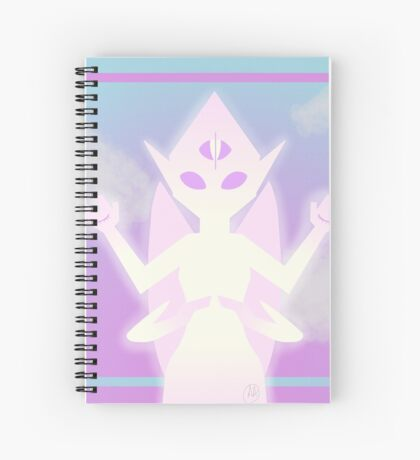 Aether Dragon Spiral Notebook
