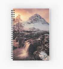Buachaille Etive Mor Spiral Notebook
