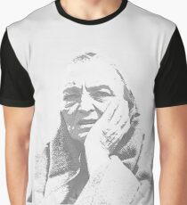 A Foggy Day, Portrait of a confused woman Graphic T-Shirt