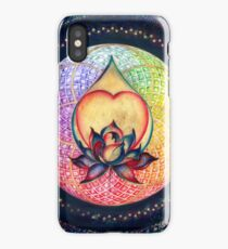 """The Drop of Golden Rain"" - Mandala of Wealth iPhone Case"