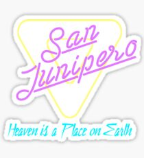 San Junipero Sticker