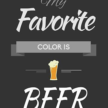 My favorite color is beer by dejameprobar
