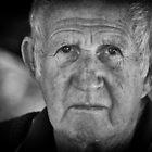 Portrait of a Market Man by Clare Colins