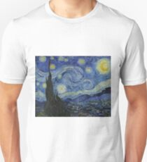 The Starry Night - Vincent van Gogh - 1889 Unisex T-Shirt