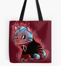 RAGE KITTY Tote Bag
