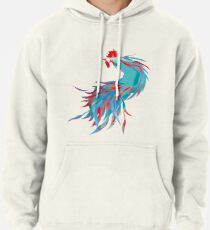 Blue  Rooster Pullover Hoodie