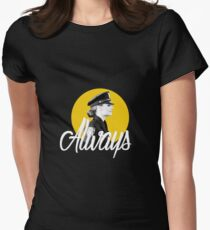 Kate Beckett - Always Womens Fitted T-Shirt
