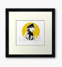 Kate Beckett - Always Framed Print