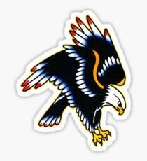 Eagle tattoo design Sticker