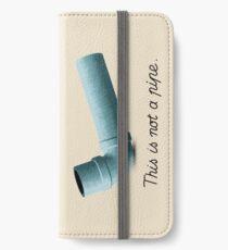 Ceci n'est pas une pipe iPhone Wallet/Case/Skin