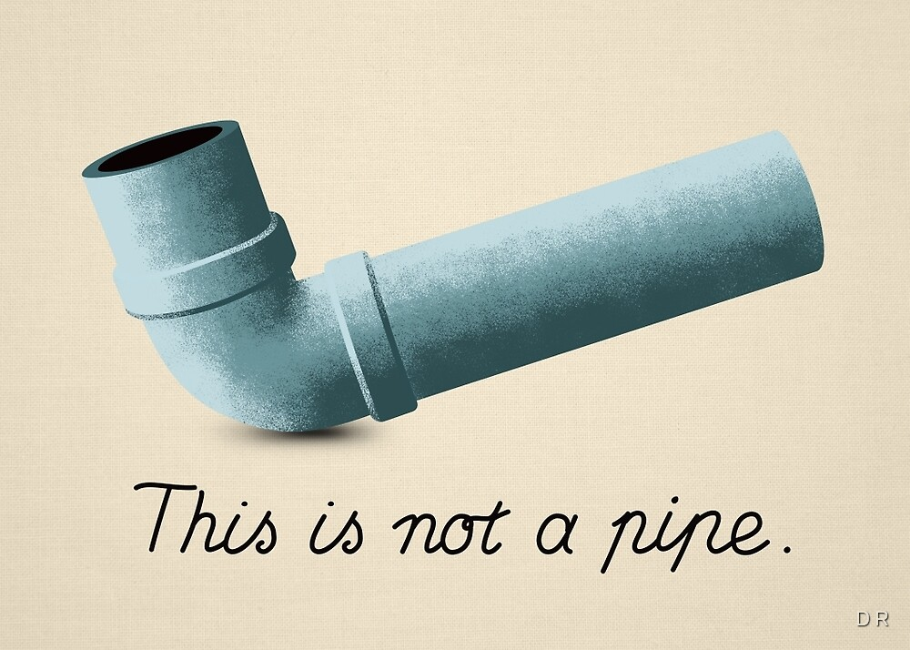 Ceci n'est pas une pipe by Dragan Radujko