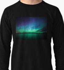 Beautiful northern lights Lightweight Sweatshirt