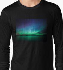 Beautiful northern lights Long Sleeve T-Shirt