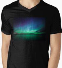 Beautiful northern lights Men's V-Neck T-Shirt