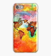 earth tones iPhone Case/Skin
