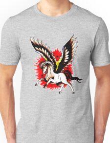 Pegasus Tattoo design Unisex T-Shirt