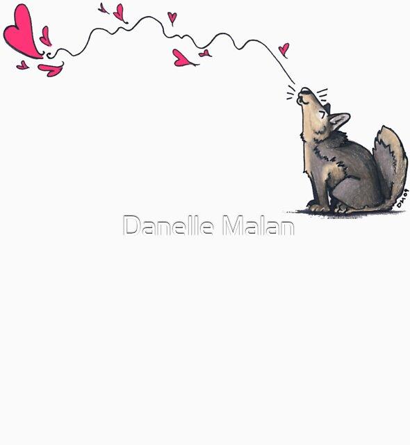 love sings by Danelle Malan