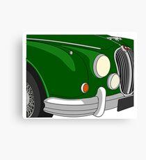 Mk II Jaguar Canvas Print