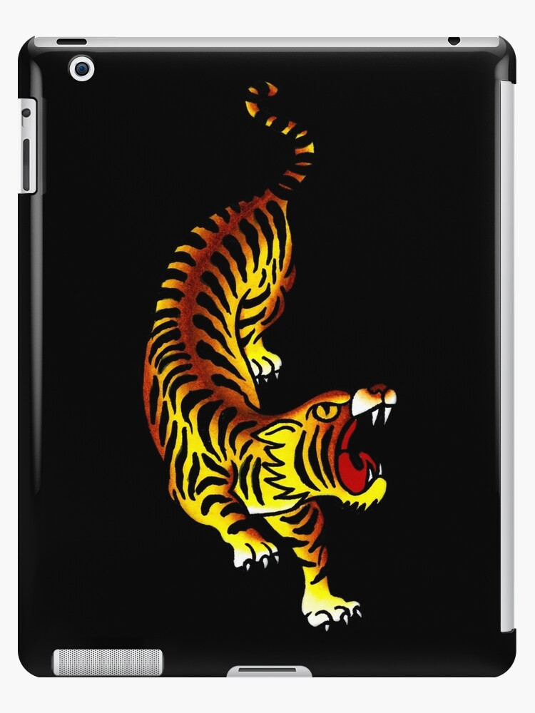 703d20b2b Traditional Tiger Tattoo design