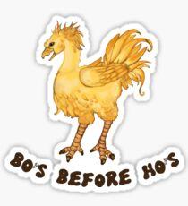 Chocobos Before Hos Sticker