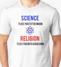 Science Vs. Religion Unisex T-Shirt