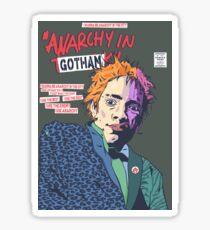 Anarchy in Gotham Sticker